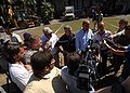 Kenneth Merten & Didier Lebret hold news conference at French Embassy, Port-au-Prince 2010-01-21.jpg