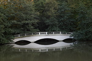 Hampstead Heath - Kenwood House false bridge