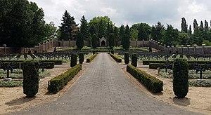 """Steyl - Cemetery of the """"Blue Nuns"""" (Sacred Heart Monastery)"""