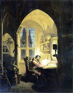 Kersting - Faust im Studierzimmer