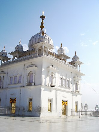 Guru Gobind Singh - Keshgarh Sahib Gurudwara at Anandpur Sahib, Punjab, the birthplace of Khalsa