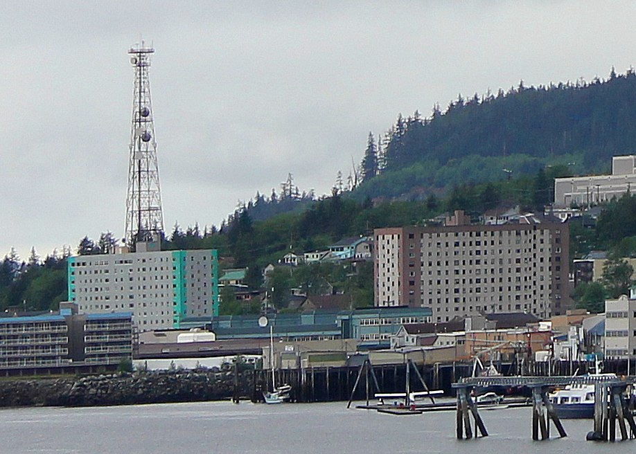 Ketchikan twin towers