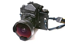 e5cad4b87ba Kiev 60 modified for the 6×4.5 frame and MLU with Arsat 30mm Fisheye