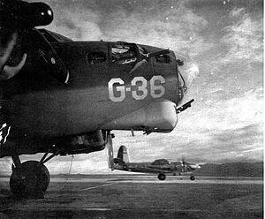 Kingman Airport (Arizona) - Aircraft for gunnery training, 1944