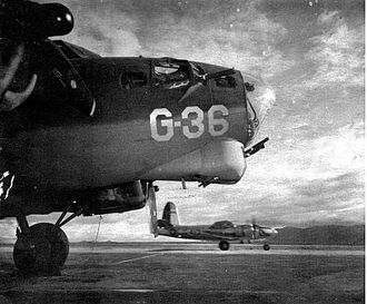 Kingman Airport (Arizona) - Aircraft for gunnery training, 1944