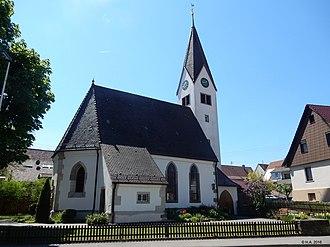 Korb - Kirche Kleinheppach 2016