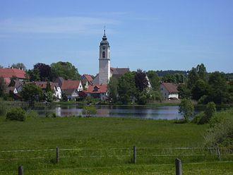 Kißlegg - Image: Kisslegg Ortsansicht
