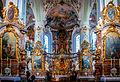 Kloster Andechs, Wallfahrtskirche Stk Nikolaus und Elisabeth auf dem 'Heiligen Berg' (13032599453).jpg