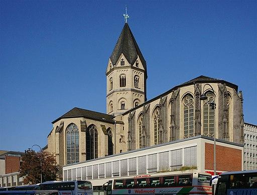 Koeln Altstadt-Nord St Andreas Andreaskloster 3 Denkmal 849
