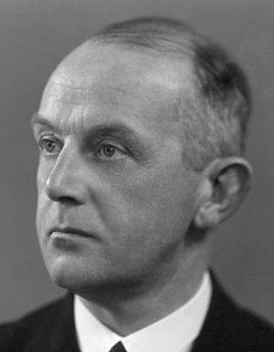 Hans Kolfschoten - Hans Kolfschoten in 1952