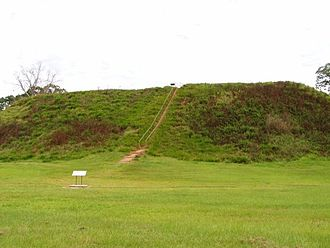 Kolomoki Mounds - Temple Mound