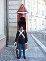 Koninklijke garde in Kopenhagen. - panoramio.jpg