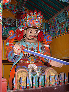 Korea-Busan-Beomeosa 6218-07 Guardian of the South.JPG