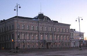 Korkeimman oikeuden rakennus Helsingissä