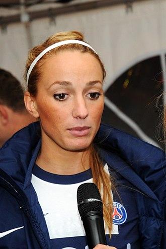 Kosovare Asllani - Asllani after a PSG game in 2013