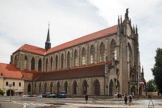 Church of the Assumption of Our Lady and Saint John the Baptist - Image: Kostel Nanebevzetí Panny Marie (exteriér)