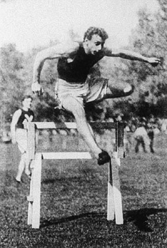 1900 Summer Olympics - Alvin Kraenzlein Winner of the 60 m, the 110 m hurdles, the 200 m hurdles, and the long jump