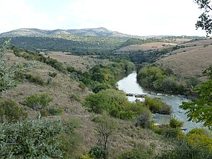 Crocodile River (Limpopo) - Crocodile River at Pelindaba