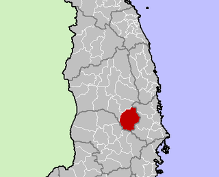 Krông Pa District District in Central Highlands, Vietnam