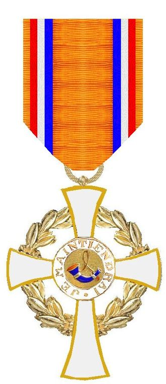 Order of the House of Orange - Image: Kroonorde Nederland ridderkruis