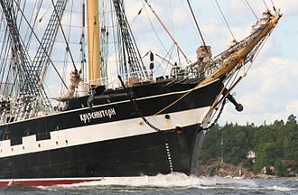 Tall ship - The tall ship ''Kruzenshtern''