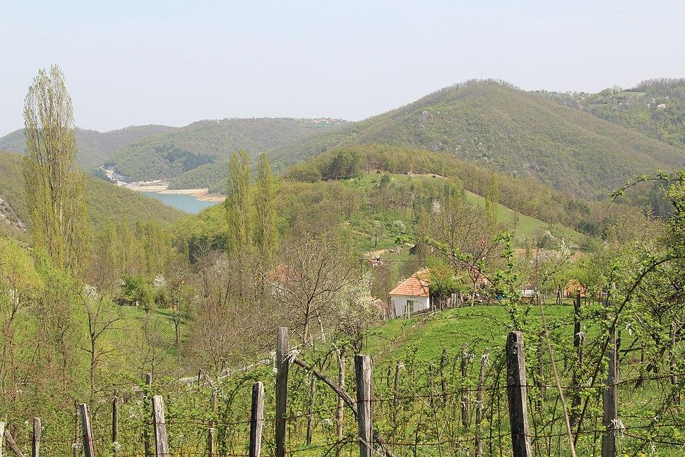 Kunice - opština Valjevo - zapadna Srbija - panorama 17