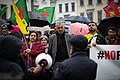 Kurdish protesters attend a demonstration against Turkey's military action (48915657481).jpg