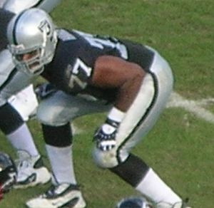 Kwame Harris - Image: Kwame Harris in 2008 with Raiders