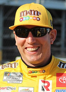 Kyle Busch American racing driver and team owner