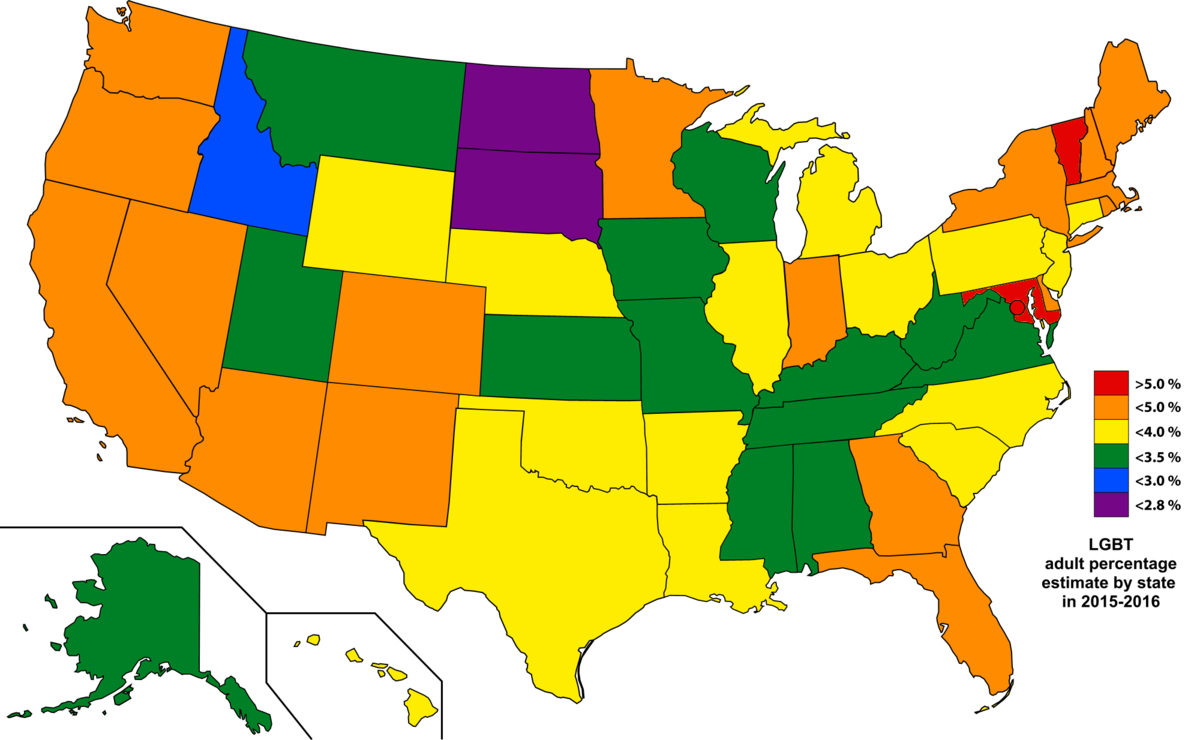 LGBT demographics of the United States - Wikipedia