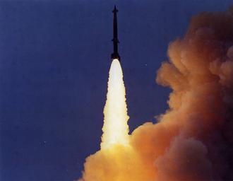 LIM-49 Spartan - Image: LIM 49A Spartan launch color
