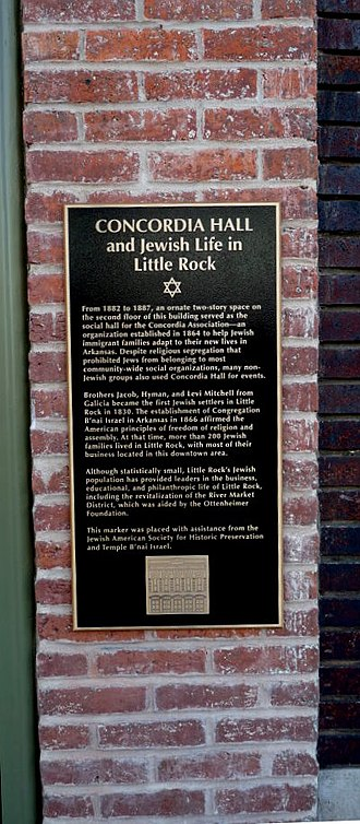 Jewish American Society for Historic Preservation - rightCongregation Beth Israel, Little Rock