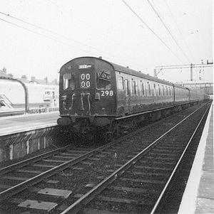 British Rail Class 302 - Class 302 at Barking