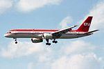 LTU - Lufttransport-Unternehmen Boeing 757-2G5 D-AMUW (27277903752).jpg
