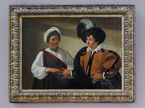 La Diseuse de bonne aventure, Caravaggio (Louvre INV 55) 01.jpg