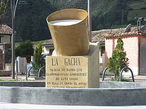Gachancipá - Image: La Gacha