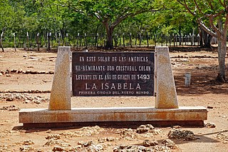 La Isabela Historic site in the Dominican Republic