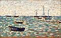 La Mer á Grandcamp by Georges Seurat.jpg