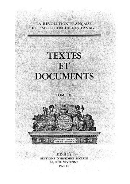 File:La Révolution française et l'abolition de l'esclavage, t11.djvu