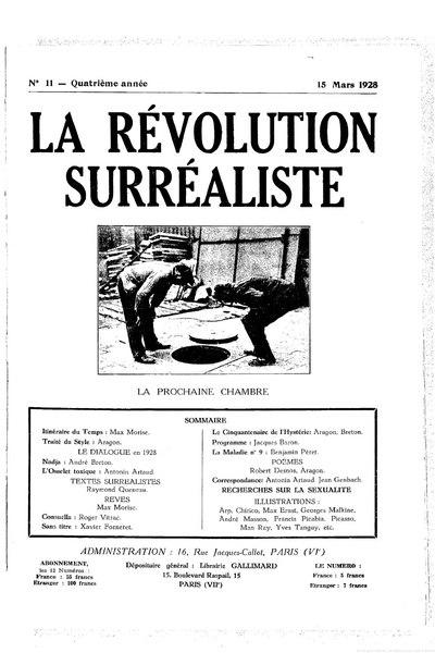 File:La Révolution surréaliste, n11, 1928.djvu