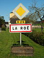 La Roë-FR-53-panneau d'agglomération-01.jpg
