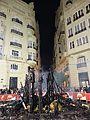 """La falla """"El carmaval de Venecia"""" al lado de ayuntamiento despues de cremá, 2017.jpg"""