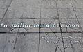 La millor terra del món, plaça de la Muntanyeta, Alacant.JPG