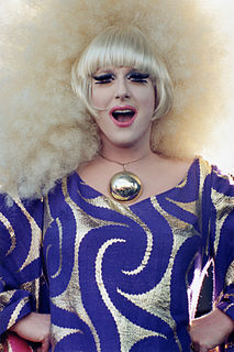 Lady Bunny American drag queen and musician