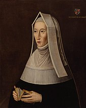 Lady Margaret Beaufort, for whom the college is named
