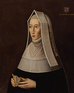 Mother of King Henry VII