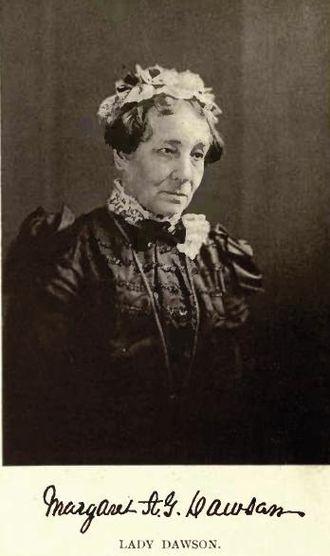 John William Dawson - Lady Margaret Dawson by William Notman