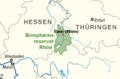 Lage von Tann (Rhön) im Biosphärenreservat.png