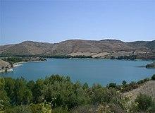 Lago di santa Rosalia.