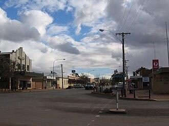 Lake Cargelligo, New South Wales - Main street